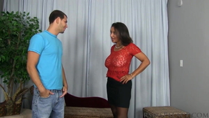 Saggy tits american MILF Persia Monir roleplay in HD