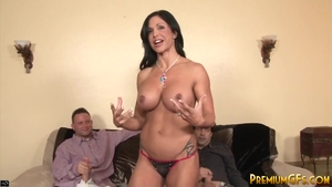 Gangbang with super hot MILF Jewels Jade