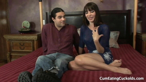 Bisexual Dana Dearmond having fun with BBC husband