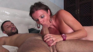 Dirty Caroline Tosca cuckhold after interview
