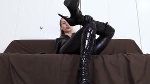 Goddess has a soft spot for fucking wearing latex