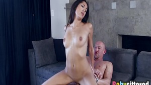 Raw fucking together with thick latina babe Chloe Amour