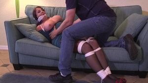 Bondage together with stepmom